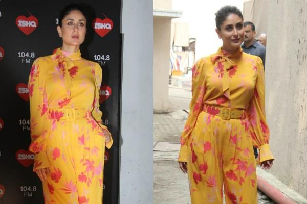 kareena kapoor spotted in mehboob studio in stylish look