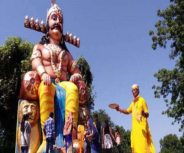 ravana effigies are never burnt in these places of india