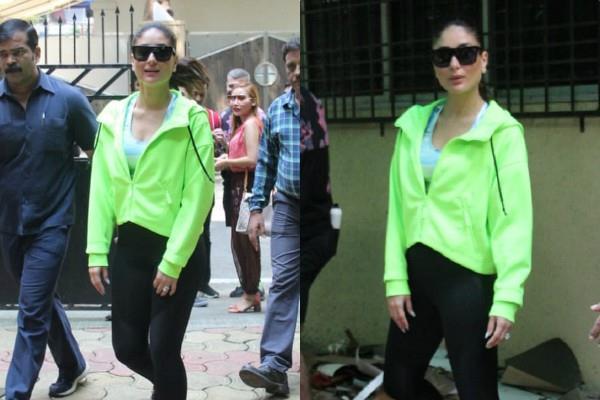 kareena kapoor khan looks stunning in gym wear