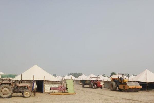tent city will be ready in dera baba nanak before indo pak corridor