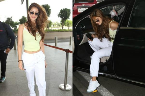 disha patani looks gorgeous at airport