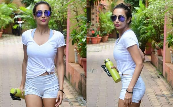 actress malaika arora spotted outside the yoga class