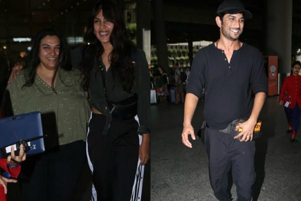 sushant singh rajput return from italy with rhea chakraborty