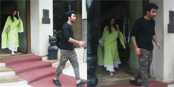 tara sutaria spotted at bandra with rumoured boyfriend aadar jain