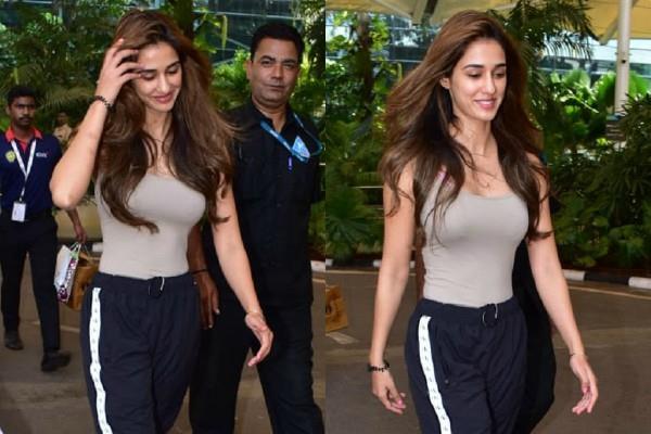 actress disha patani spotted at airport