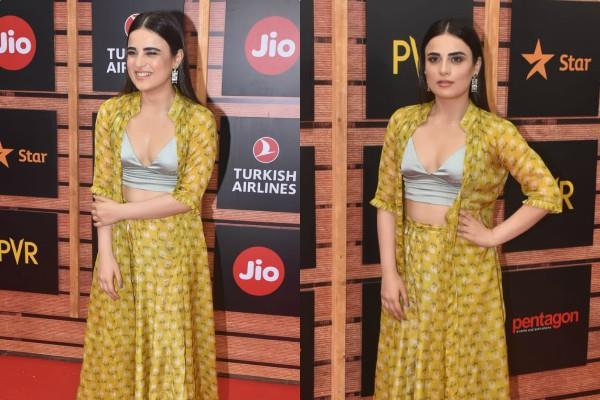 radhika madan stylish appearance at film festival