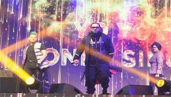 yo yo honey singh performs in diwali concert