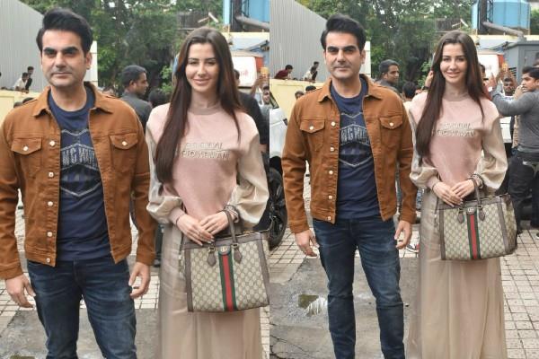 malaika arora ex husband arbaaz khan looked with girlfriend georgia