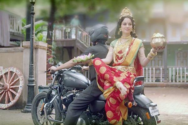 kangana plays goddess laxmi in this new  swachh bharat  ad