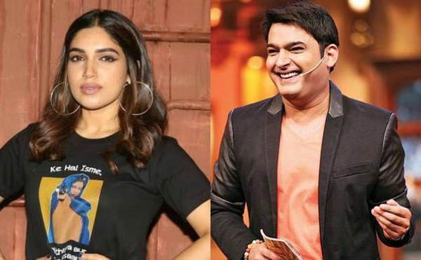 actress bhumi pednekar and taapsee pannu reached at kapil sharma show