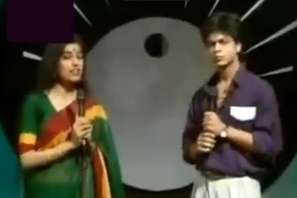 shahrukh khan old video goes viral