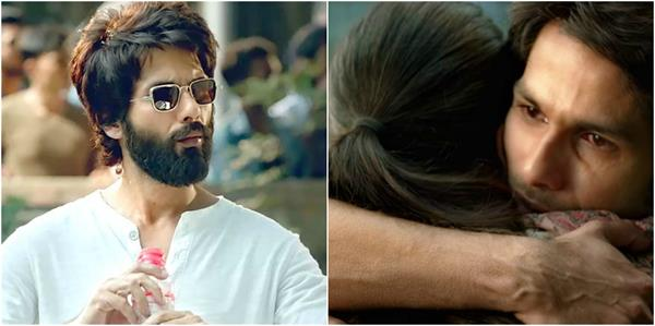 fan points out shahid kapoor had goosebumps in kabir singh this scene