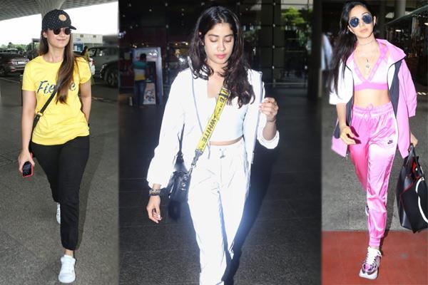 airport look ileana dcruz janhvi kapoor to kiara advani