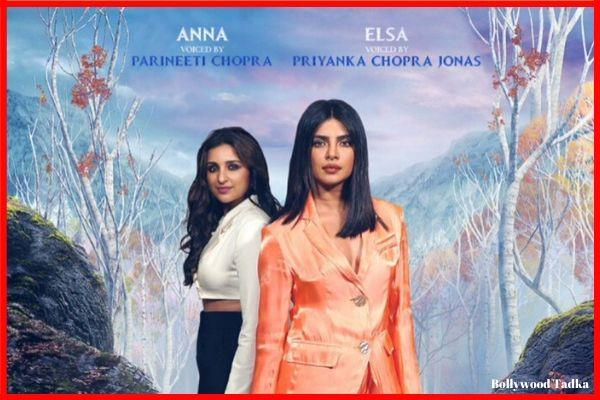 priyanka chopra and parineeti chopra work in frozen 2 movie