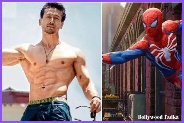 tiger shroff want to do spiderman role