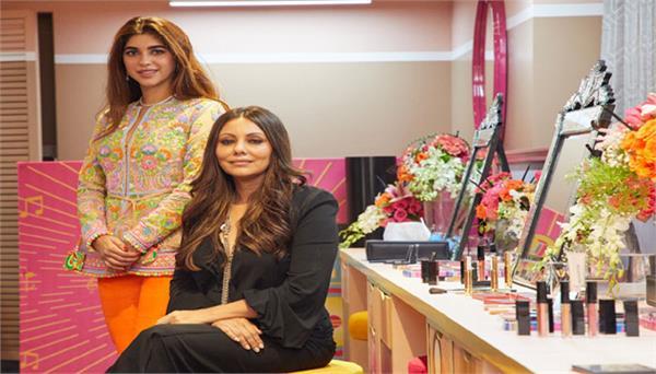 gauri khan design beauty brand on the theme of bollywood
