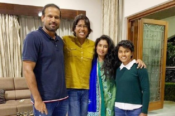 special guest came to yusuf pathan s house gave this player a birthday treat