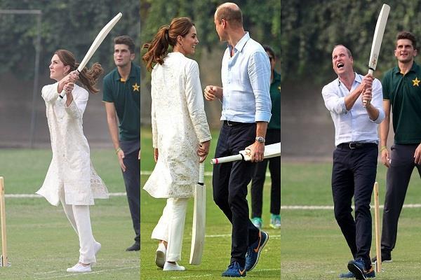 प्रिंस विलियम ने मारे छक्के, पत्नी हुईं कैच आउट, देखें शाही जोड़े के पाकिस्तान दौरे की लेटेस्ट तस्वीरें...