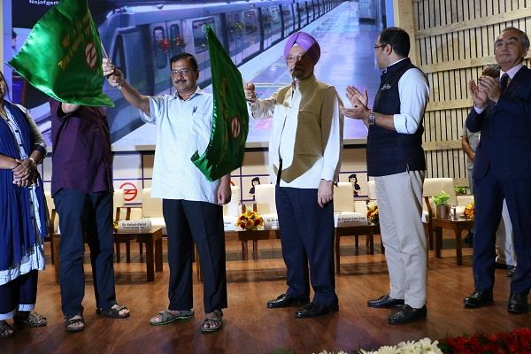 easier for passengers dwarka najafgarh gray metro line inaugurated