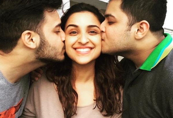 parineeti chopra share a post about her brothers