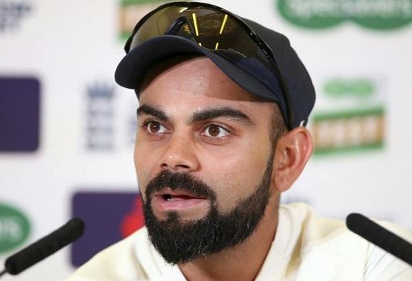 indian captain kohli s statement came after hitting record double century