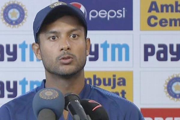 making 250 runs is not a joke mayank agarwal on kohli s innings