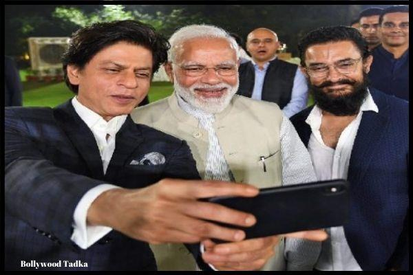 bollywood celebs aamir khan shahrukh khan etc come for pm modi interaction