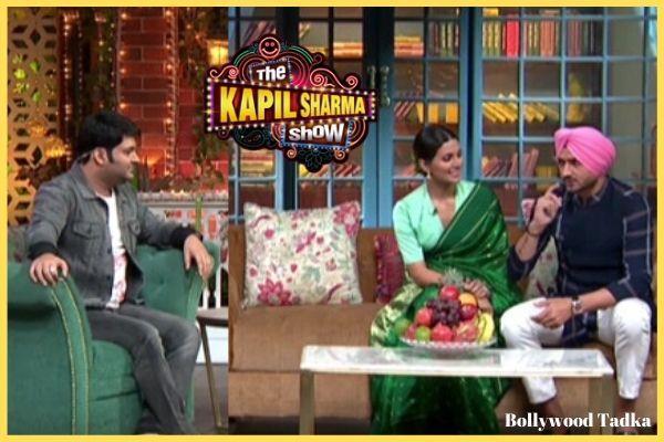 harbhajan singh geeta basra in the kapil sharma show