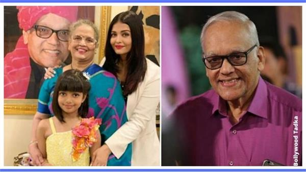 aishwarya rai bachchan share her father s photo