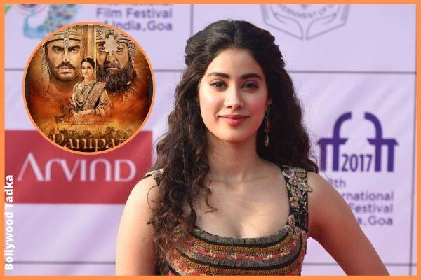 jhanvi kapoor saying about movie panipat