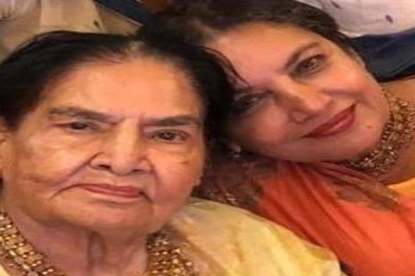 शबाना आजमी की मां शौकत कैफी का 93 वर्ष की उम्र में हुआ निधन