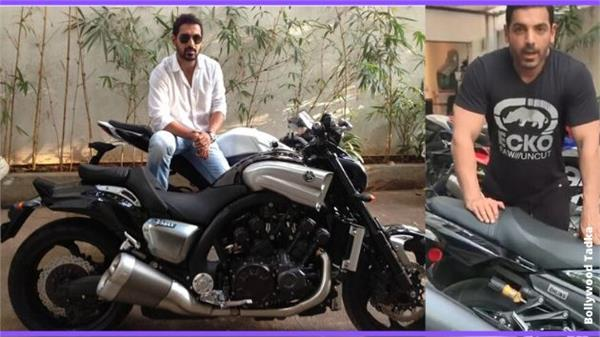 john abraham share a video of his bikes