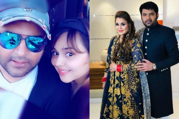 kapil sharma cute birthday wish to wife ginni chatrath