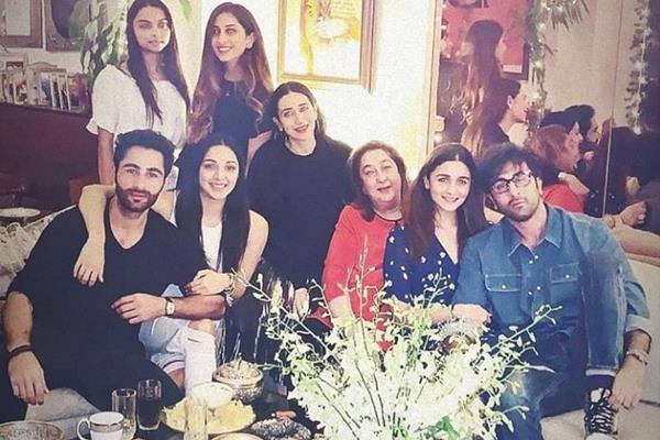 alia ranbir cute pictures viral from cousin armaan jain birthday bash