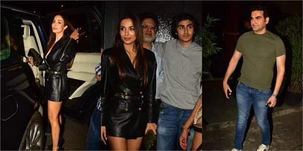 malaika arora and arbaaz khan celebrate son arhaan khan birthday