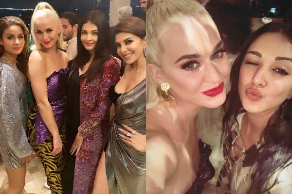 katy perry enjoy karan johar party with aishwarya rai alia and others stars