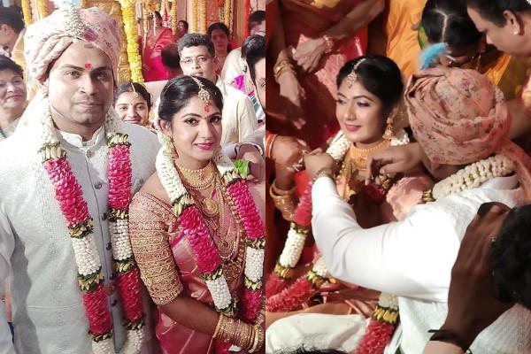 kannada actress yagna shetty married to sandeep shetty