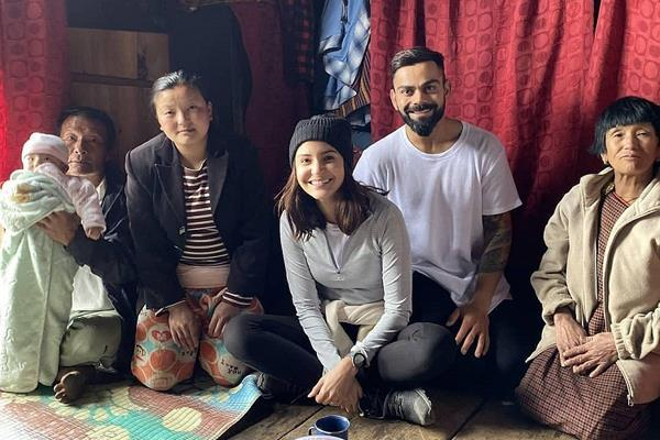 bhutan villagers do not recognize anushka sharma virat kohli