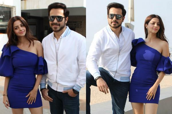 emraan hashmi and vedhika kumar at promotion of the body