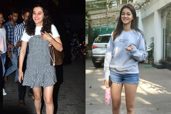 ananya panday and tapsee pannu looked stunning