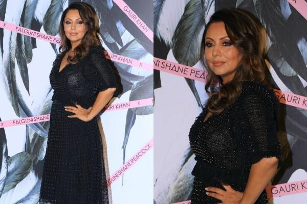 gauri khan looks stylish as she attends store opening event