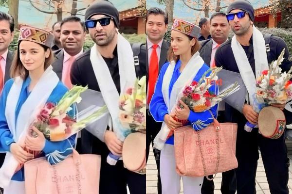 ranbir kapoor alia bhatt get sweet gesture by fans in manali