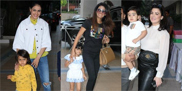 genelia d souza and others stars attend birthday party of sachiin joshi son