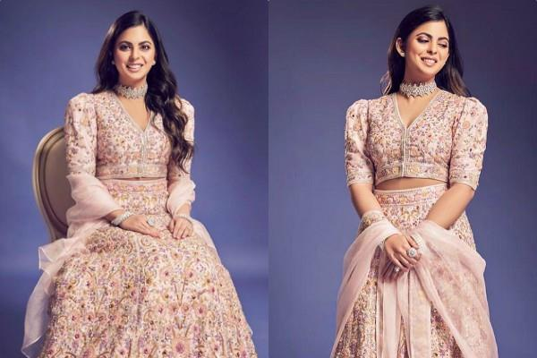 mukesh ambani daughter isha ambani looks royal in thease pictures