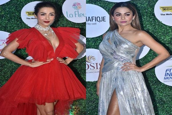 arora sisters looked stunning in fit and fab show
