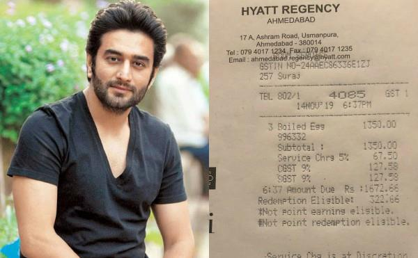 shekhar ravjiani pays rs 1672 for 3 egg whites in a five star hotel hyatt