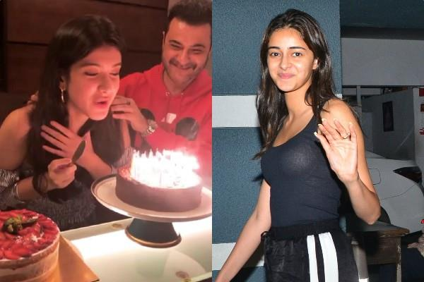 shanaya kapoor celebrates birthday with family and friends