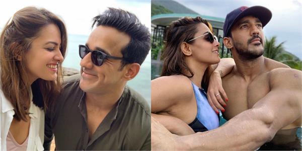 anita hassanandani enjoy vacation with husband rohit reddy