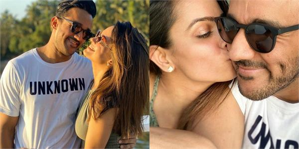 anita hassanandani spent some quality time with hubby rohit reddy in goa