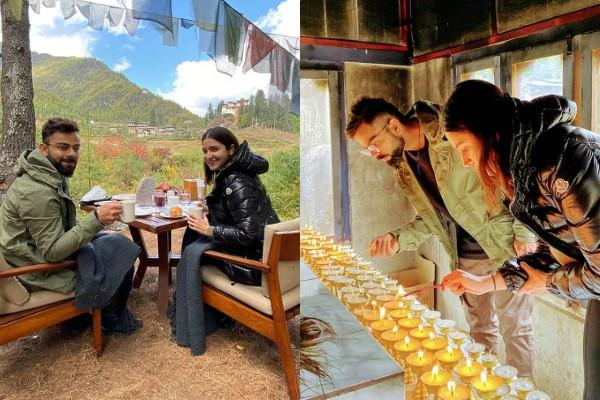 anushka sharma shares adorable photos with virat kohli on his birthday